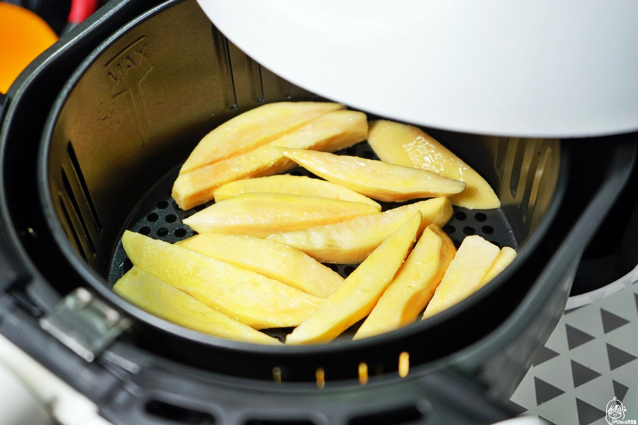 『懶人。料理』 氣炸甘梅地瓜|芷要上菜 氣炸鍋出好料  看似簡單的地瓜條,只要稍微用點小訣竅 美味會更加分 保證零失敗超簡單料理。