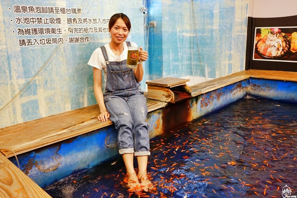 『宜蘭。礁溪』 NO.9 溫泉旅店|平價工業風時尚裝潢風格 地理位置優秀 住宿送泡湯、釣蝦、溫泉魚泡腳。