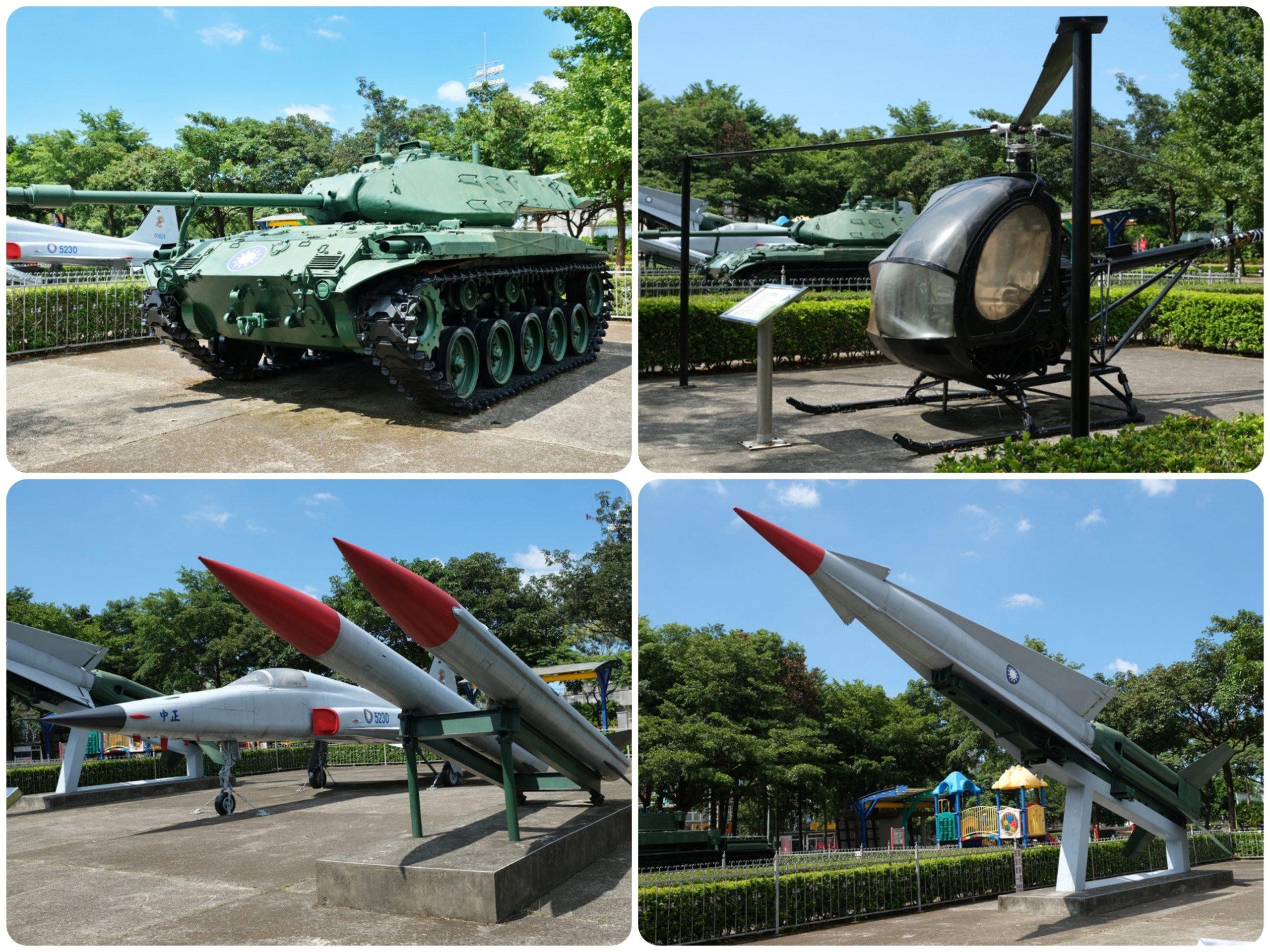 『桃園。龍潭』 龍潭運動公園|桃園都會公園最推薦  免費親子戲水池 、綠林公園還有戰鬥機、戰車展示區。