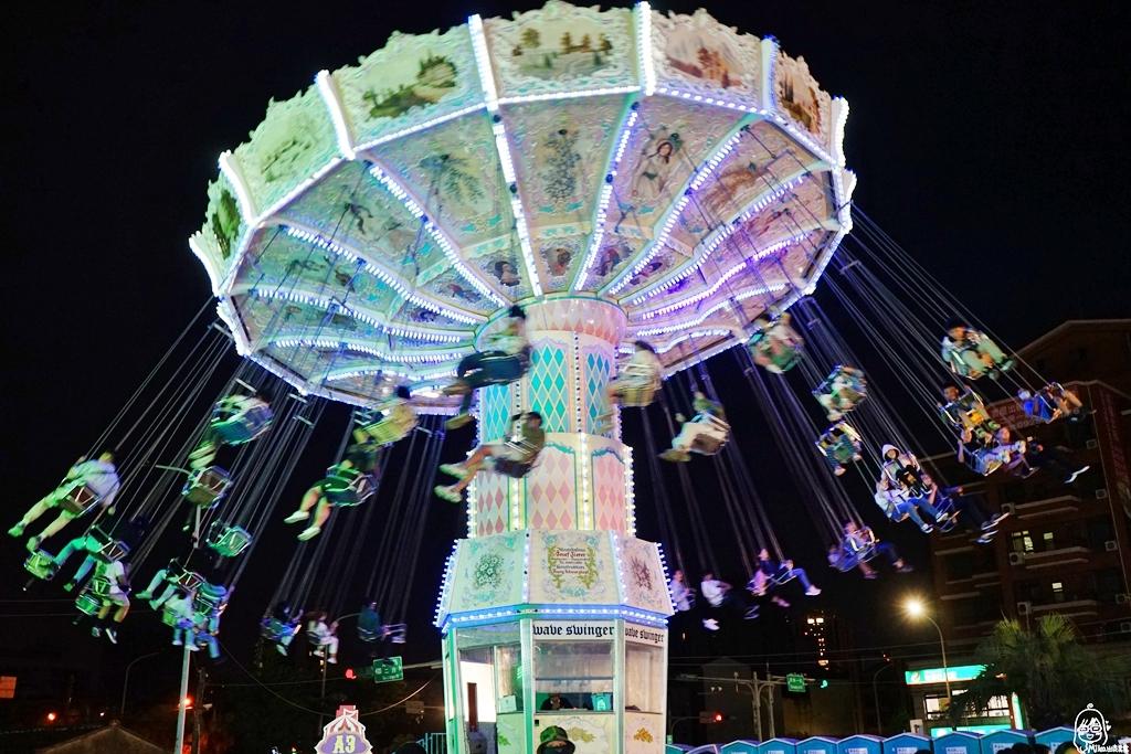 『桃園。青埔』JETS嘉年華遊樂園 桃園場|來自歐美 城市裡的移動式遊樂園,更是桃園最新、最刺激 65天限定隱藏版景點!快來體驗全台最快、最恐怖360度旋轉的瘋狂尖叫摩天輪!