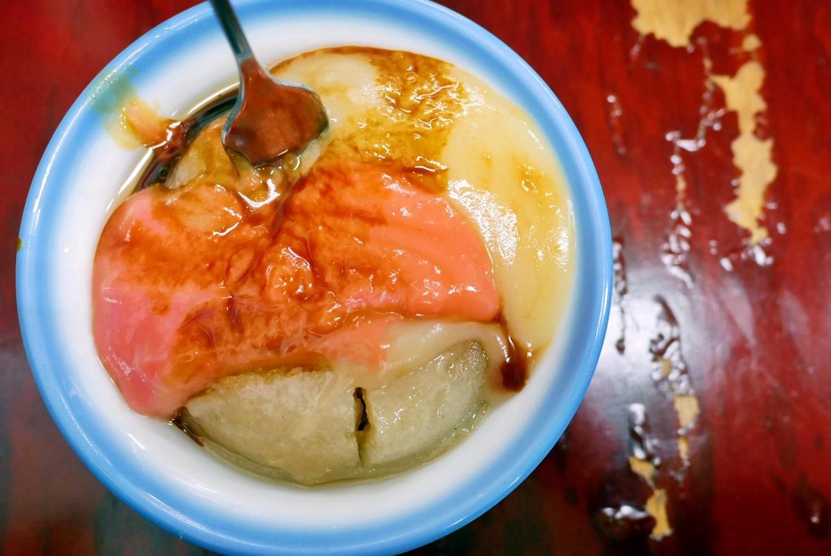 台中 第二市場  茂川肉丸|市場百年老店 傳承四代的古早味肉丸  曾獲得米其林餐盤推薦。