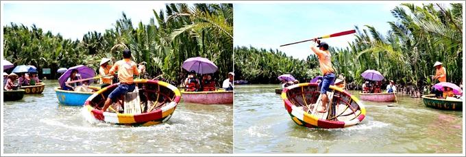 『越南。峴港』 迦南島竹籃船生態之旅+龍蝦海鮮火鍋午餐和燈籠 DIY,以及來越南必遊的會安古鎮,真是太美了!會安五日遊Day2行程