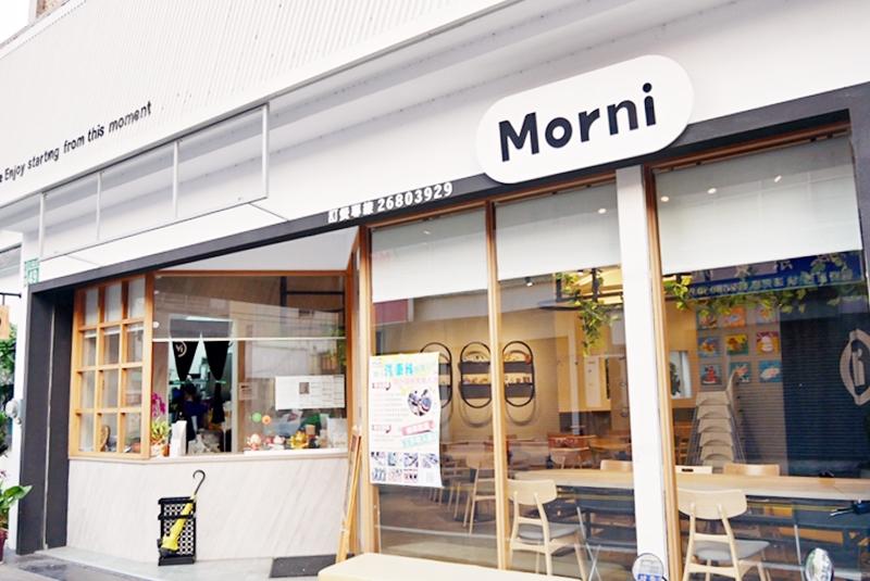 『台中。大甲』 莫尼Morni 早午餐 |知名連鎖早午餐店 台式、西式、義式無國界料理創意上桌,外帶、內用都方便,好吃平價 純白木質簡約風裝潢很有質感。