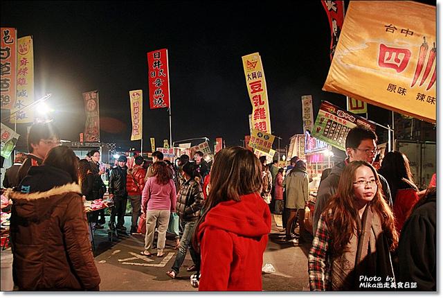 『雲林斗六』超大場便宜好逛美食多的-斗六人文觀光夜市 @Mika出走美食日誌