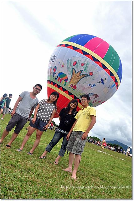『台東遊記』鹿野高台-2011年熱氣球嘉年華 @Mika出走美食日誌
