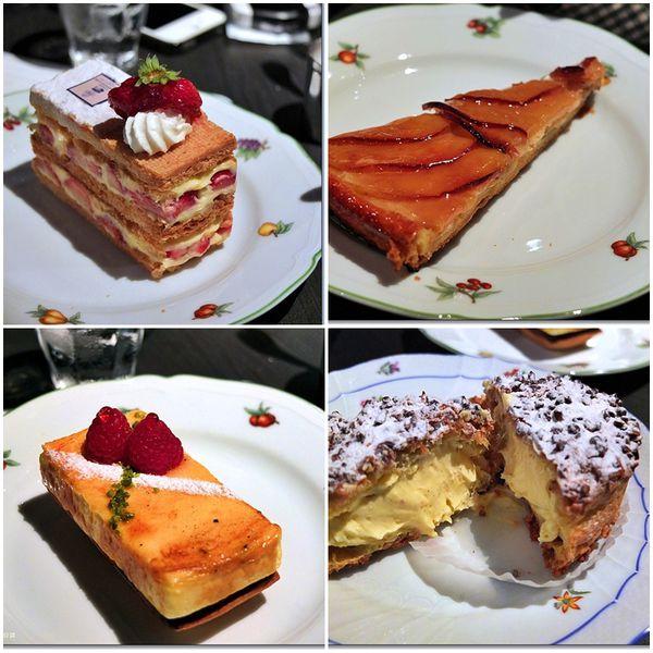 『日本京都』2013年京阪賞櫻之旅DAY1-Salon de The AU GRENIER D'OR法式甜點名店 @Mika出走美食日誌